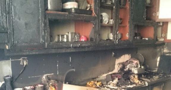 Yangın evi kül etti
