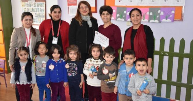 Yeni eğitim projesi: Hijyen elimizde