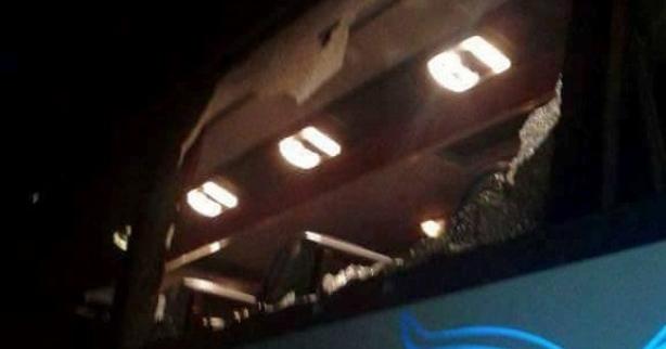 Yolcu otobüsüne ateş açıldı