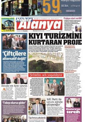 Haber Alanya - 14.02.2019 Manşeti