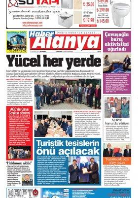 Haber Alanya - 17.12.2018 Manşeti