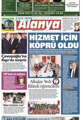 Haber Alanya - 17.05.2019 Manşeti