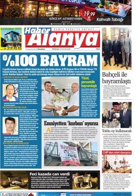 Haber Alanya - 18.08.2018 Manşet