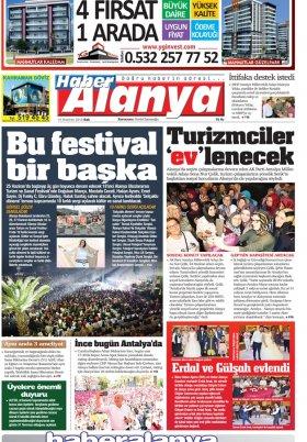 Haber Alanya - 19.06.2018 Manşeti