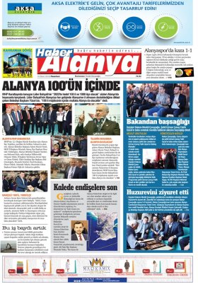Haber Alanya - 19.03.2018