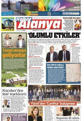 Haber Alanya - 22.02.2019 Manşeti