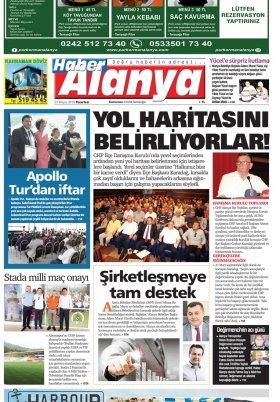 Haber Alanya - 27.05.2019 Manşeti