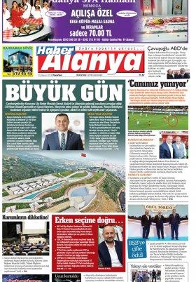 Haber Alanya - 23.04.2018 Manşeti