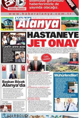Haber Alanya - 24.06.2019 Manşeti