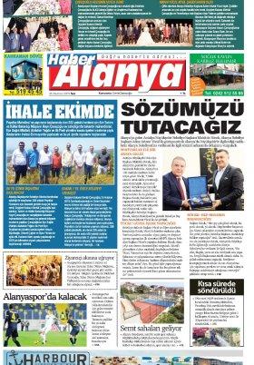 Haber Alanya - 25.06.2019 Manşeti
