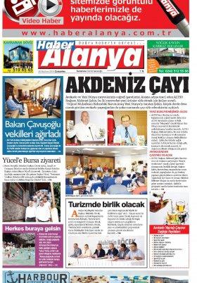 Haber Alanya - 26.06.2019 Manşeti