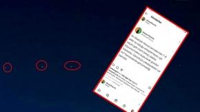 Alanya'da UFO heyecanı