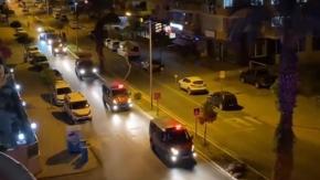 Alanya'da sirenler 23 Nisan için çaldı