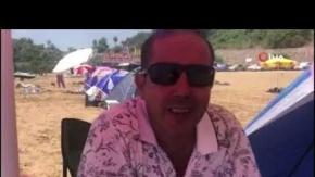 Alanya'da tatilciler çadırı tercih etti, sahiller çadır kente döndü