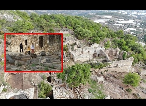 Alanya'da gün yüzüne çıkarılan Syedra Antik Kenti ziyaretçi akınına uğruyor
