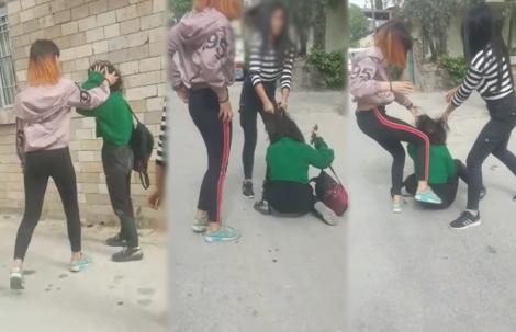 Kızlar çete kurdu, kan donduran görüntüler ortaya çıktı!